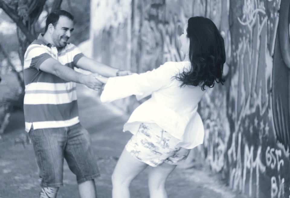 Tiago e Ana Coura. Ensaio de Casal. Contagem.
