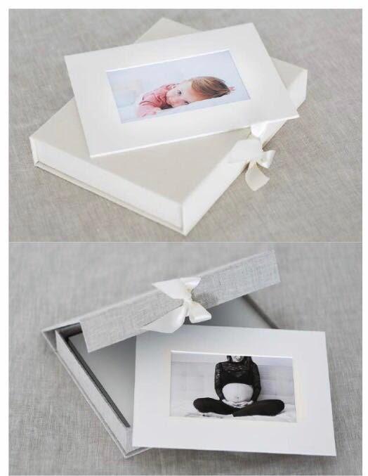 caixa de fotos para emoldurar